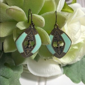 Jewelry - Antique turquoise earrings